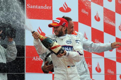 Formel 1 Silverstone 2008, Nick Heidfeld BMW Rang 2