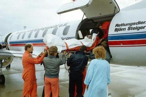 Krankentransport Flugzeug