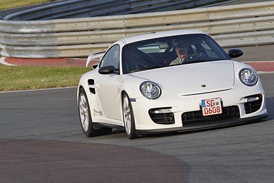 Fünf getunte Porsche