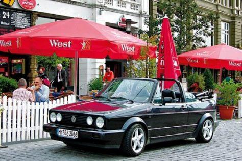 Vw Golf I Cabrio 1979 1992 Autobildde