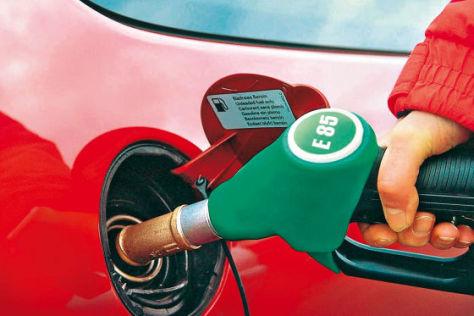 Tanken von Ethanol 85