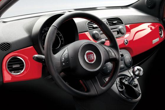 Fiat 500 Ferrari