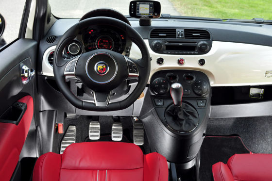 Fiat 500 Abarth/Mini Cooper Works