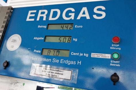 Erdgas ist bis 2018 steuerbegünstigt.