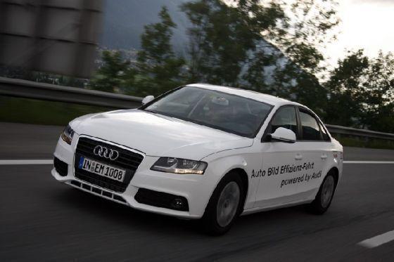 Audi-Effizienz-Fahrt