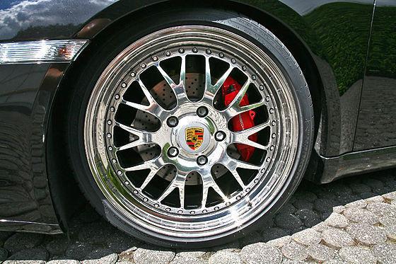 Inden Porsche Cayman S