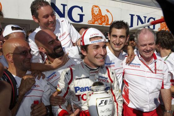 Formel 1 GP Ungarn 2008, Timo Glock, Toyota