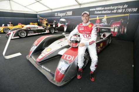 LMS 2008, 1000 km  Nürburgring, Dindo Capello, Audi R10 TDI