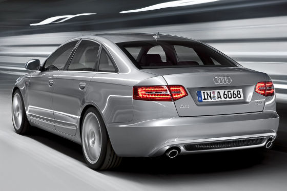 Audi A6 Facelift August 2008