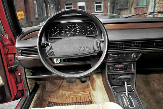 Audi 100 5S CD Avant Armaturentafel