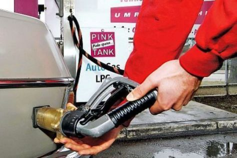 Betankung mit Autogas