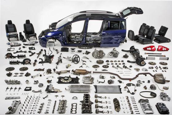 Mazda5 2.0 MZR-CD Top zerlegt Einzelteile