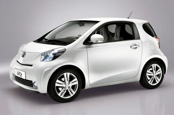 Der Kleinstwagen Toyota iQ kommt im Frühjahr 2009 auf den Markt.