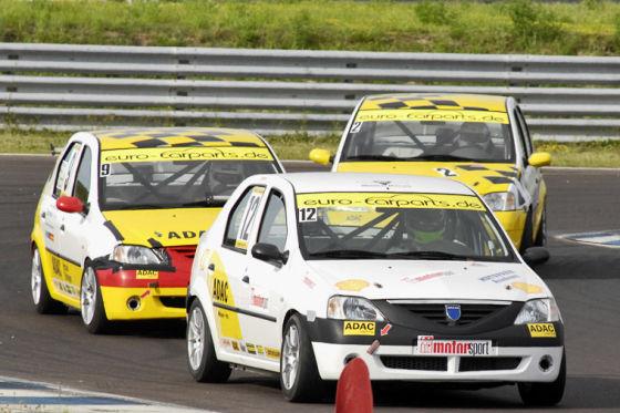 Dacia Logan Cup 2008, Tracktest Dacia Logan