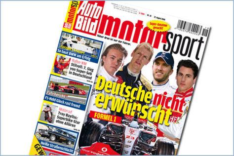 AUTO BILD MOTORSPORT 18/2008