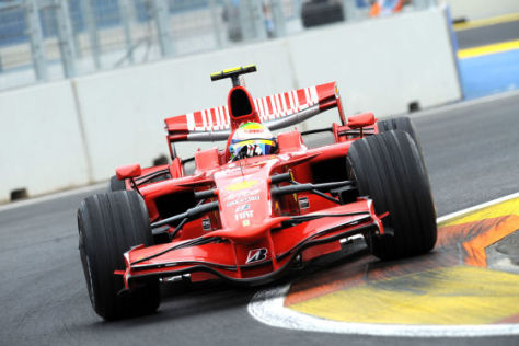 Formel 1, GP von Europa Valencia 2008, Felipe Massa Ferrari