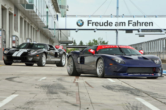 Ford GT3  Matech vs Ford GT