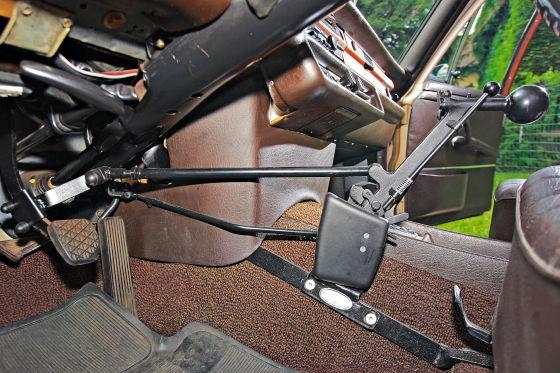 Behindertengerechter Fahrzeugumbau