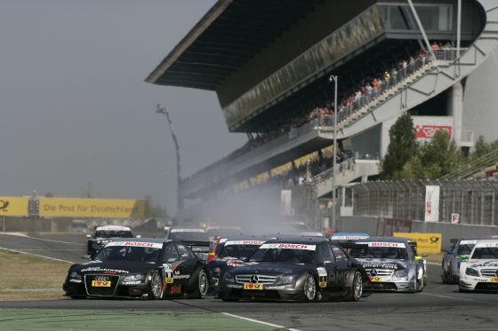 DTM 2008: Der Start in Barcelona