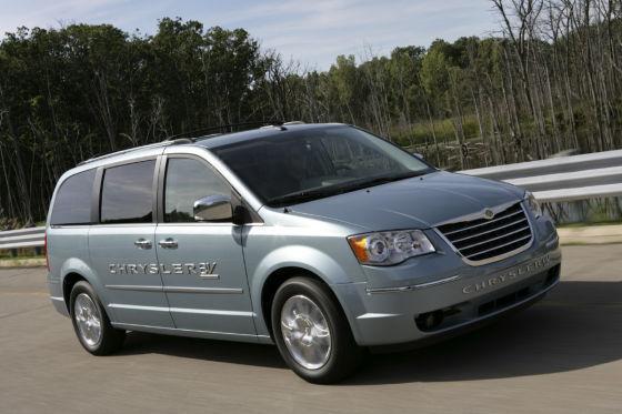Der Chrysler Van mit Elektroantrieb.