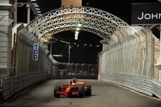 Formel 1, GP von Singapur 2008, Felipe Massa, Ferrari