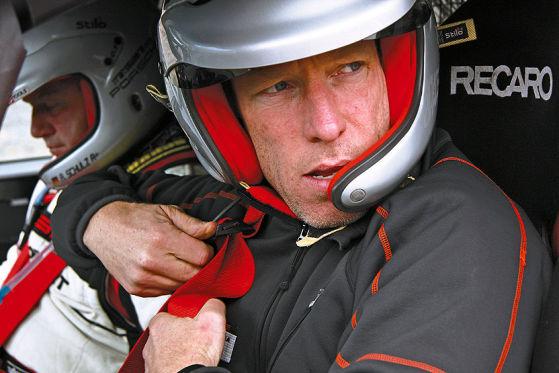 AUTO BILD MOTORSPORT-Testfahrer Reiner Kuhn