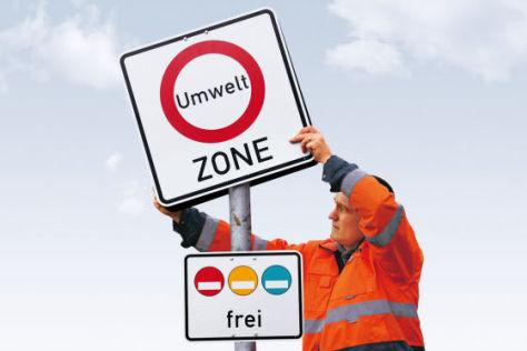 Verkehrsschilder Umweltzone