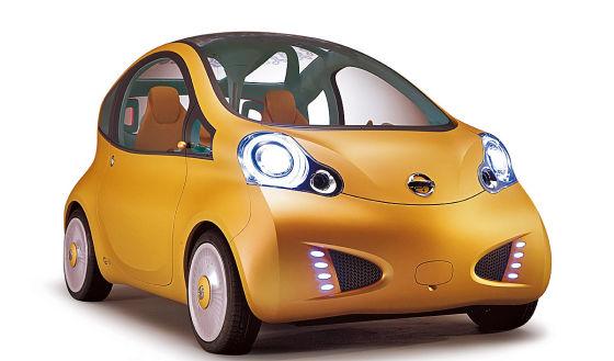 Nissan Nuvu Paris-Studie