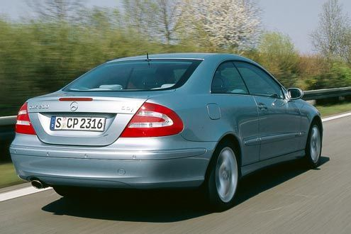 Mercedes-Benz CLK C 209