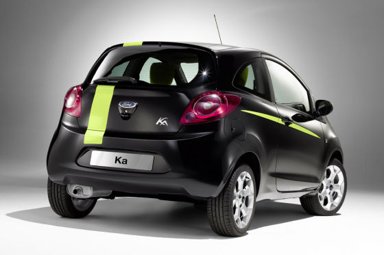 Ford Ka Digital Art