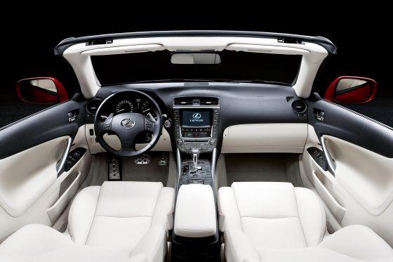 Lexus IS 250C Cabriolet Kofferraum