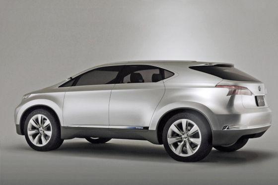 Lexus LF-Xh Paris-Studie