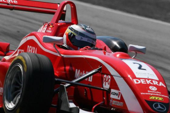 Auch im Jahr 2007 war Hülkenberg in der F3-Euroserie als Dritter der Gesamtwertung erfolgreich unterwegs.
