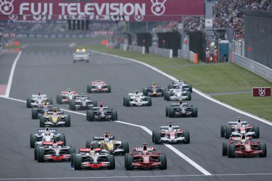 Formel 1 2008 Japan GP