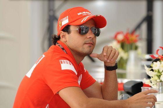 Formel-1-Fahrer Felipe Massa (Ferrari)