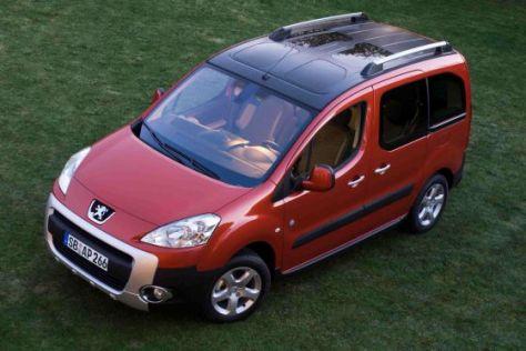 Den Peugeot Partner Tepee gibt's jetzt mit einer Sonderausstattung für Familien.