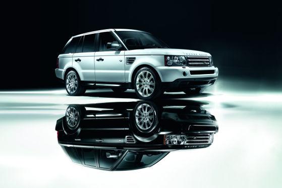 Auch der Range Rover Sport Black & White ist ein Jubiläumsangebot.