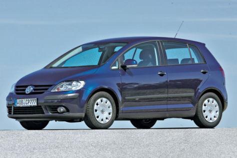 Volkswagen erhöht beim Basismodell vom Golf Plus um 175 Euro.