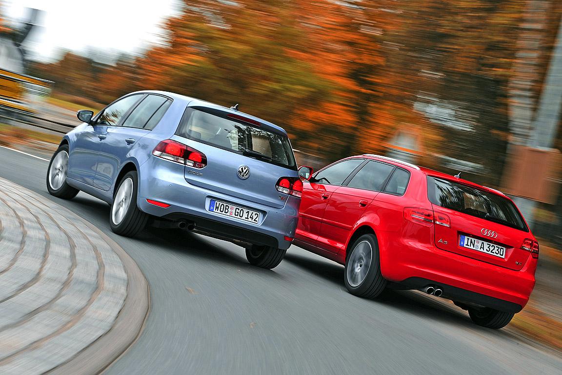 VW Golf TSI Audi A3 Sportback 1.8 TFSI