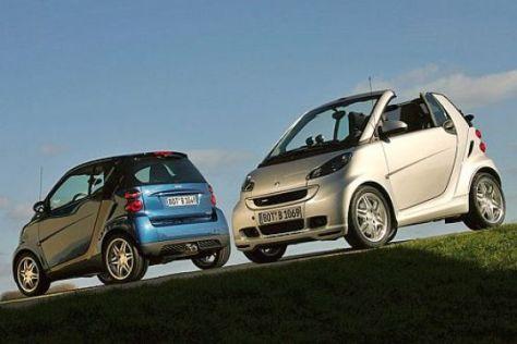 Smart fortwo Coupé und Cabrio