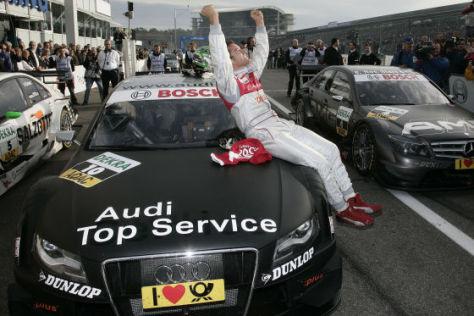 DTM 2008, Finale in Hockenheim, Timo Scheider, Audi A4 DTM