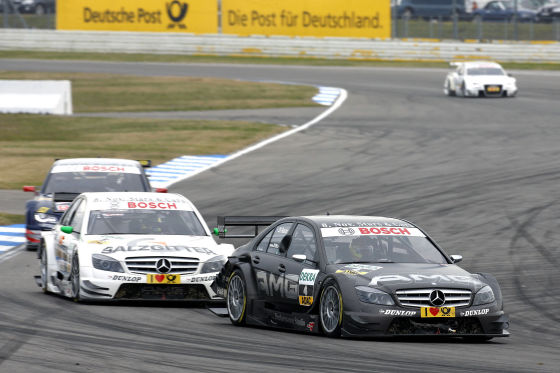 Paul di Resta beendete seine hervorragende DTM-Saison im Rennen und in der Gesamtwertung auf Platz zwei.