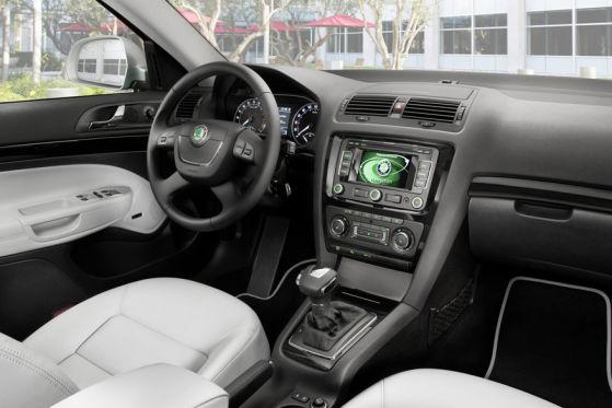Skoda Octavia Facelift, Innenraum