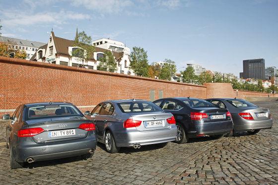 Audi A4 BMW 3er Mercedes C-Klasse Citroën C5