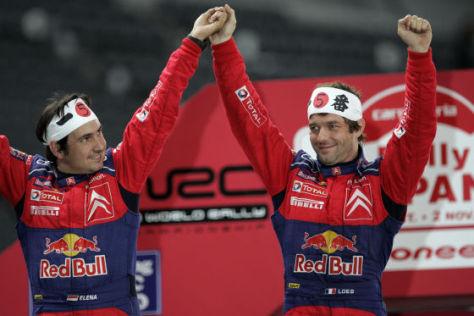 Rallye-Weltmeisterschaft 2008, WRC, Sébastien Loeb/Daniel Elena, Citroen C4, Rallye Japan
