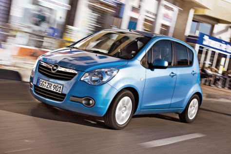 Opel Agila 1.2 Automatik