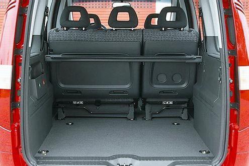 Mercedes-Benz Vaneo W 414 Laderaum