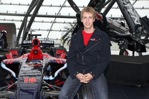 Sebastian Vettel, Formel-1-Team Toro Rosso
