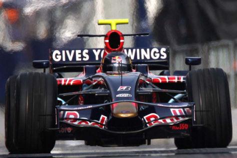 Formel-1-Tests von Barcelona, 19.11.2008, Red Bull, Sebastian Vettel
