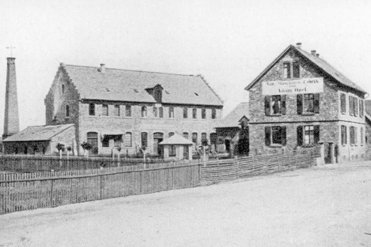 Opel-Fabrikgebäude 1868
